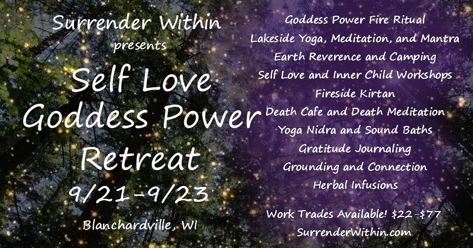 flier goddess retreat forrest