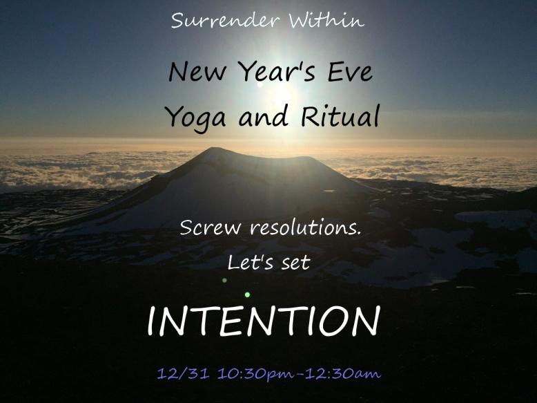 new years eve ritual