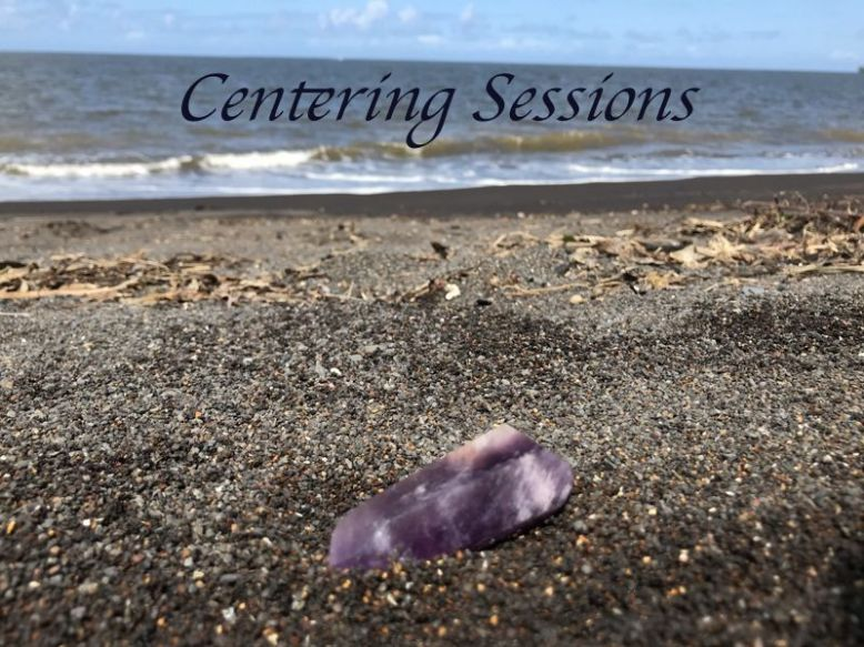 Centering Sessions crystal