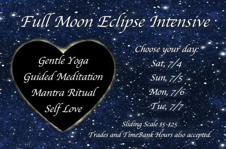 7.4.20 Full Moon Eclipse starry sky